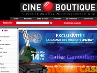 boutique TSF - Cineboutique