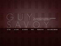 boutique Guy Savoy