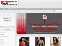 boutique 01lingerie.fr