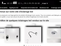 boutique Eclairage led